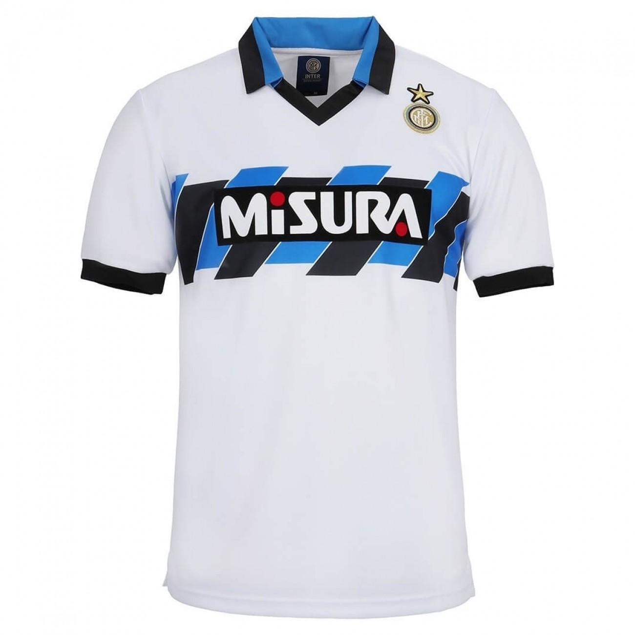 Retrofootball® Inter Maglia Storica Bianca 1991 cfW1pB1