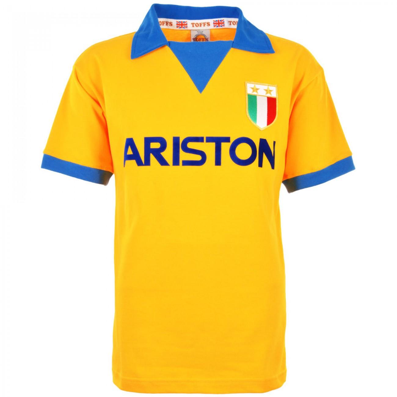Maglia vintage Juventus 1984-85 gialla