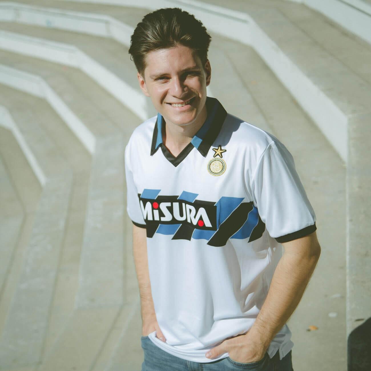 Maglia Inter 1990-91 Ospiti