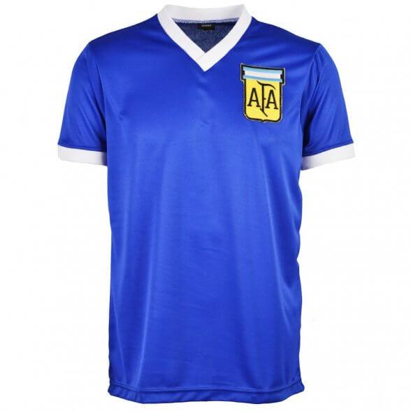 Seconda maglia Argentina 1986 Blu Maradona