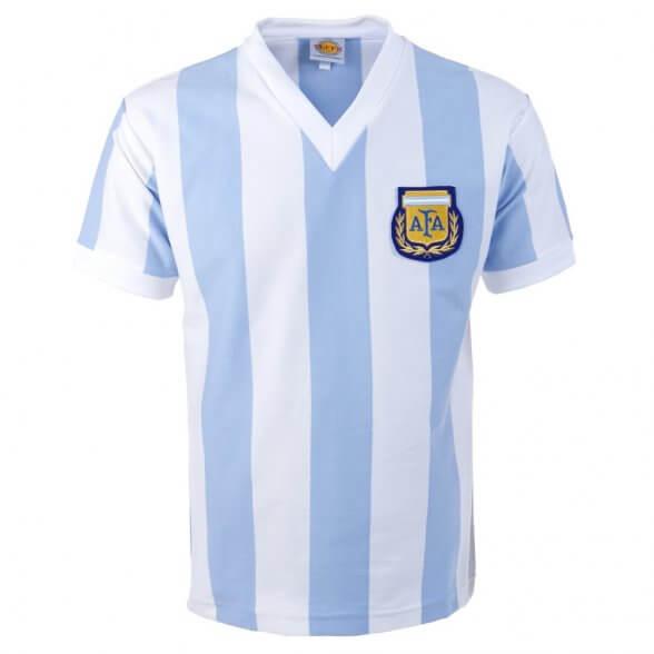 Maglia retro Argentina Kempes   Retrofootball
