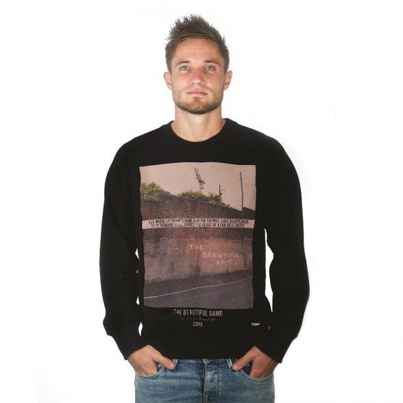 The Beautiful Game Sweater   Black