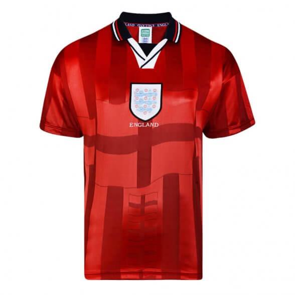Maglia storica Inghilterra 1998 Ospiti