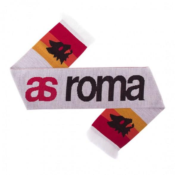 AS Roma Sciarpa Retro Bianca