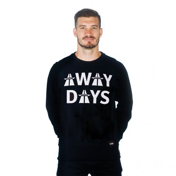 Away Days Sweater | Black