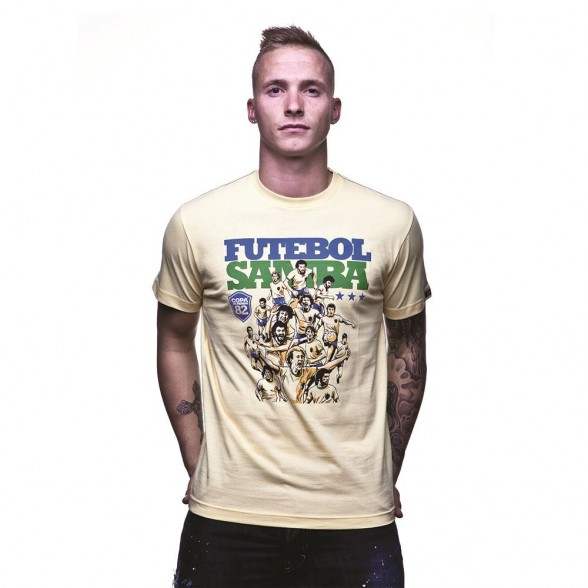Futebol Samba T-Shirt | Yellow