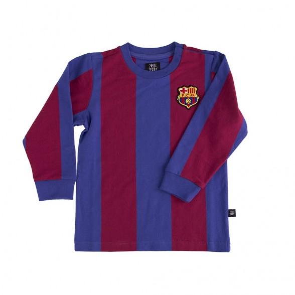 Maglia vintage FC Barcellona Bambino
