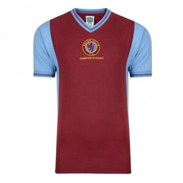 Maglia storica Aston Villa 1982 Campioni d