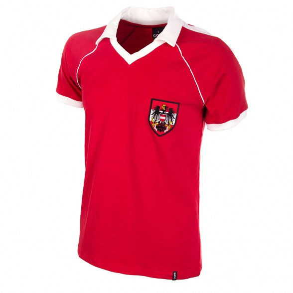 Maglia Austria 1982 rossa