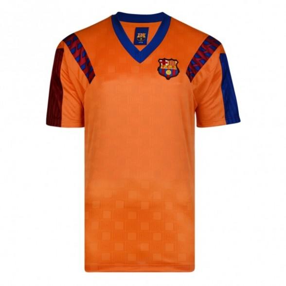 Maglia Barcellona arancione finale Coppa Campioni 1992