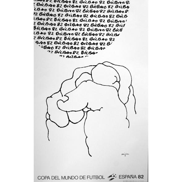 Cartel Oficial de Bilbao - Despeje de Chillida