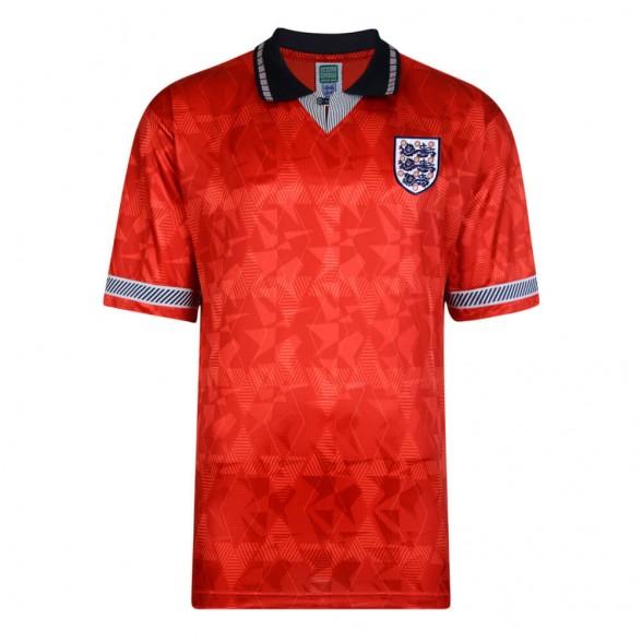 Maglia storica Inghilterra 1990 Ospiti