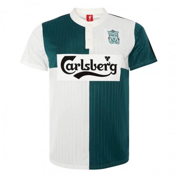 Maglia storica Liverpool FC 1995-96 Ospiti Verde