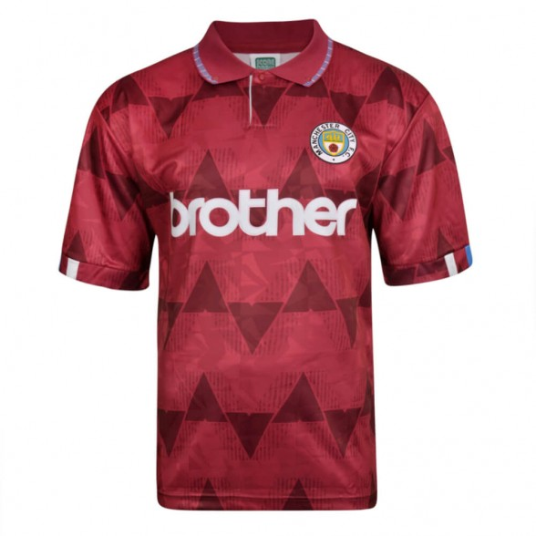 Maglia storica Manchester City 1989 Away
