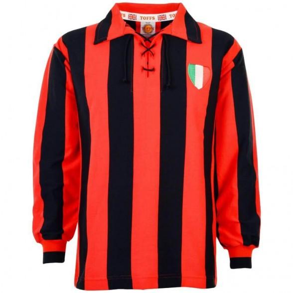 Maglia storica Milan 1950 anni 50