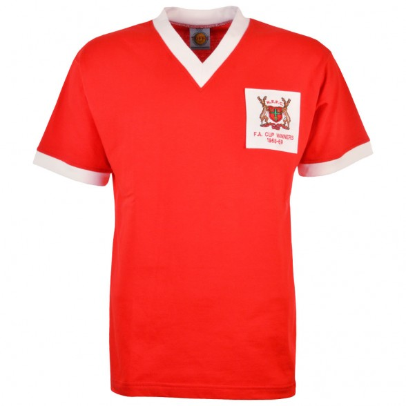 Maglia storica Nottingham Forest 1959