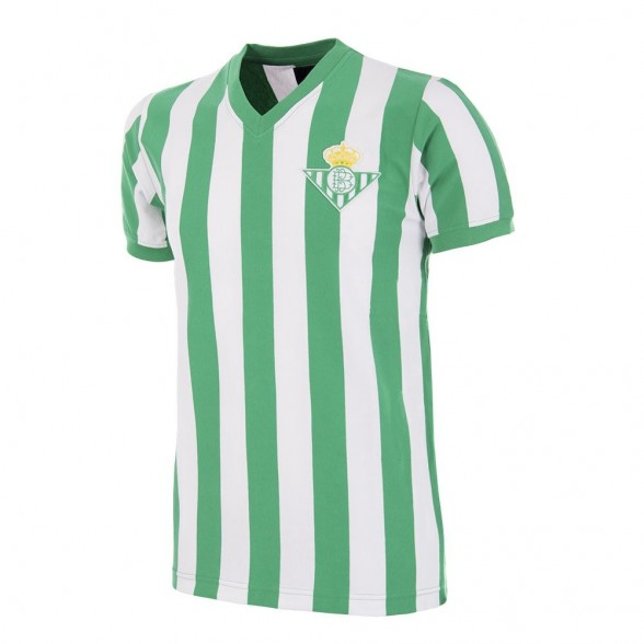 Real Betis 1976 - 77 Maglia Storica Calcio