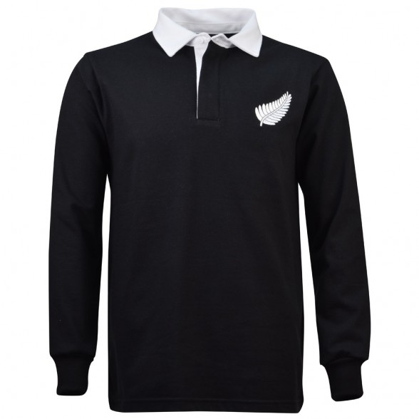 New Zealand 1980 Retro Rugby Shirt