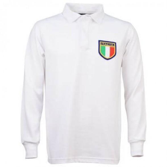 Italy 1975 Away Retro Rugby Shirt