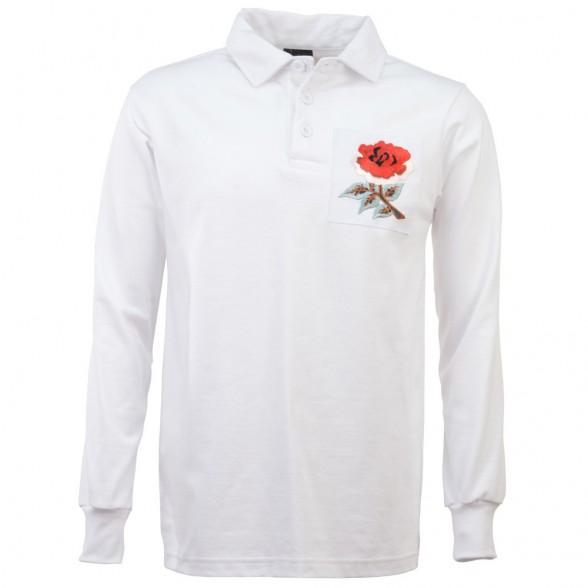England 1910 Retro Rugby Shirt