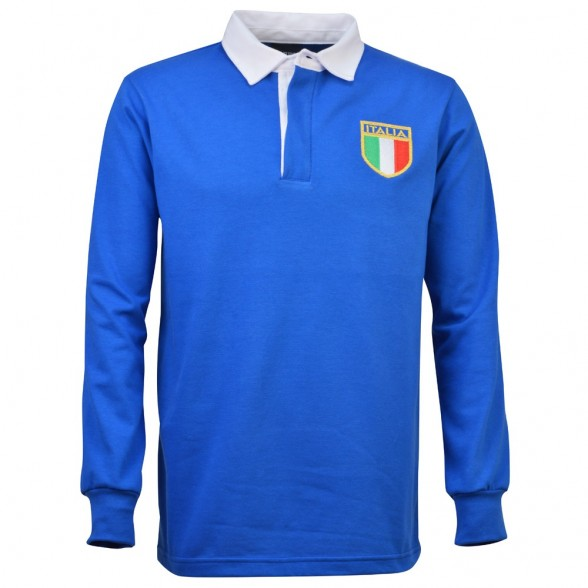 Italy 1975 Retro Rugby Shirt