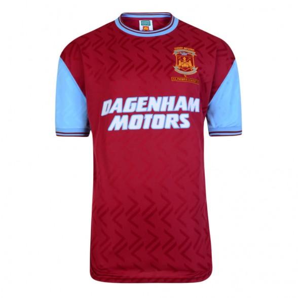 Maglia storica West Ham 1994. Bobby Moore Memorial Match 7/03/1994.