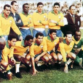 Maglia storica Brasile anni 60