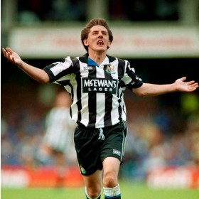 Newcastle United 1994-95 retro shirt product photo