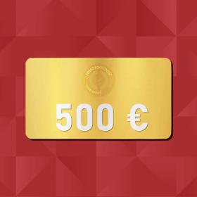 500€ Gift Card - Retrofootball®