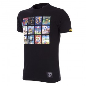 Panini Heritage Fifa World Cup Collage T-shirt   Black