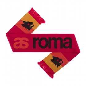 AS Roma Sciarpa Retro Rossa