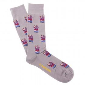 FC Barcelona Puyol - Abidal Casual Sock