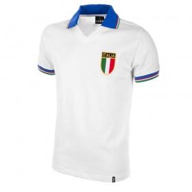 Seconda maglia bianca Italia 1982. Europei