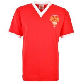 Maglia storica Manchester United 1958 FA Cup Final