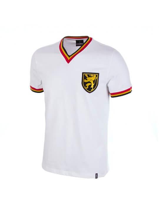 Maglia Belgio bianca anni 70