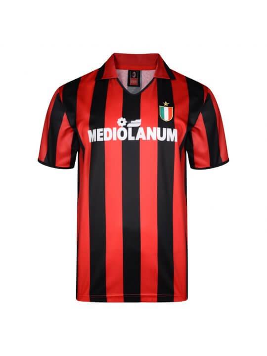 Maglia storica AC Milan Mediolanum Gullit Van Basten