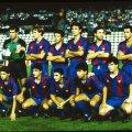 Barcelona Team con la maglia del FC Barcelona 1990-91