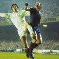 Norman Hunter con la maglia del Leeds United 1975 Finale Coppa Campioni