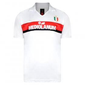 Maglia storica Away Milan Mediolanum Van Basten