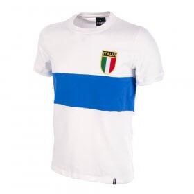 Maglia bianca Italia 1974