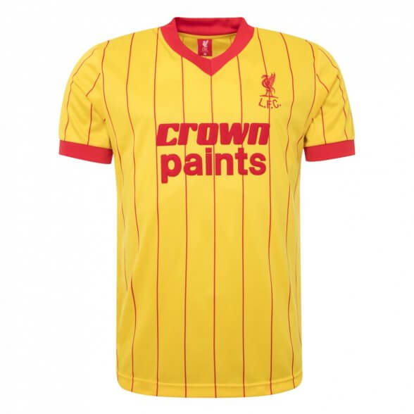 Maglia Liverpool 1981/82 | Away