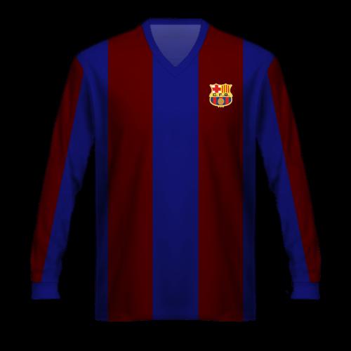 Maglia FC Barcelona 1950/15 Kubala