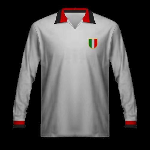 Camiseta Milan 1963 final Copa de Campeones