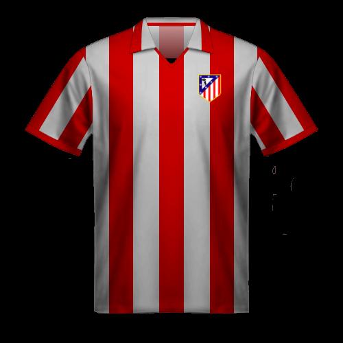 Maglia Atletico Madrid 1970-71 Luis Aragones