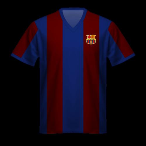 Maglia FC Barcelona 1973/74, la maglia blaugrana di Johan Cruyff
