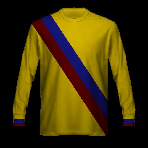 Maglia gialla Barcellona 1975/76 ospiti trasferta