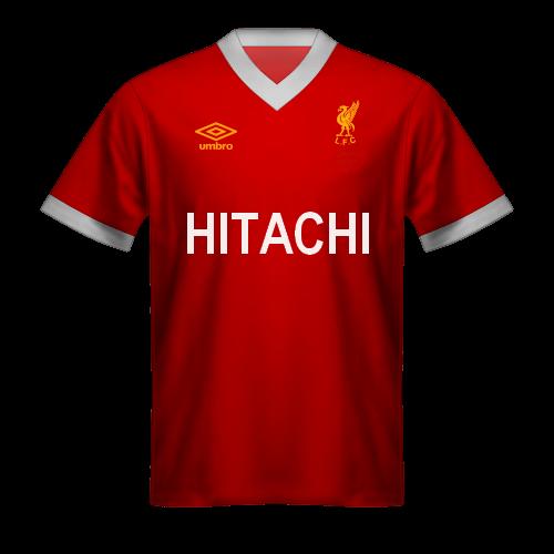 Maglia Liverpool 1978 Hitachi