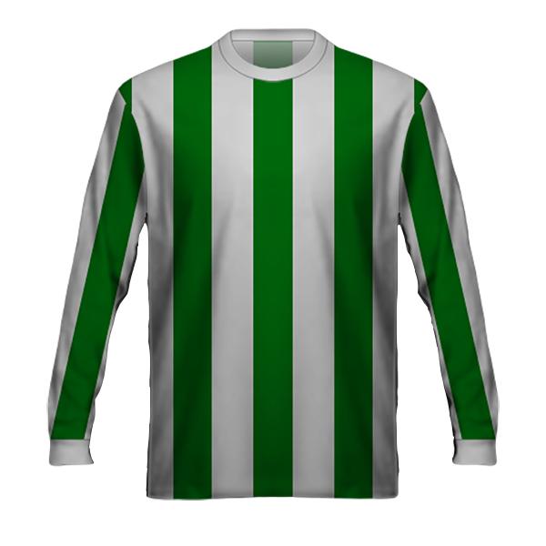 Maglia Francia Verde Bianca 1978