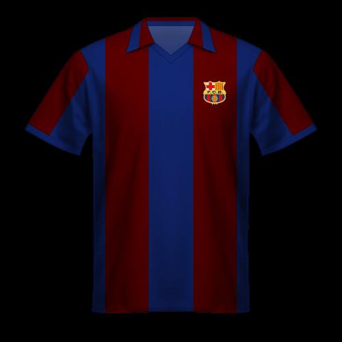 Maglia FC Barcelona 1980/81