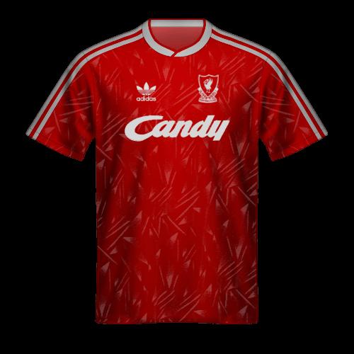 Maglia Liverpool 1989/90